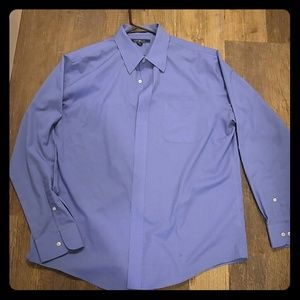 Men's Blue Croft & Narrow Dress Shirt
